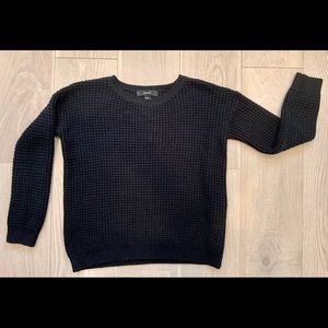 Forever 21 Sweaters - Forever 21 waffle knit textured crew neck sweater